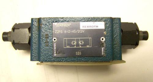 REXROTH Z2FS-6-2-43-2GV FLOW CONTROL VALVE