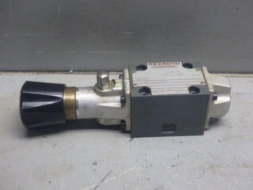 REXROTH HYDRONORMA HYDRAULIC VALVE_4 WMD 6 C51/F_4WMD6C51F
