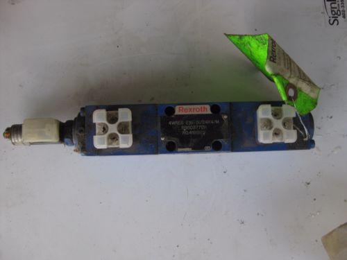 Rexroth 4WRE6 E16-1X/24K4/M R900377131 RO4191929  Hydraulic Valve Mannesmann