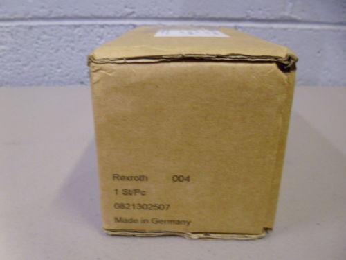 REXROTH 0821302507 PRESSURE REGULATING VALVE Origin IN BOX