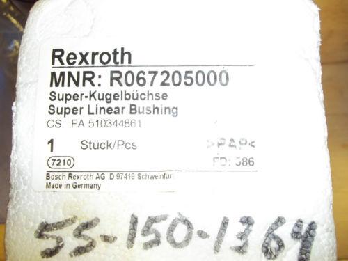 Origin REXROTH SUPER LINEAR BUSHING MNR:R0672050000