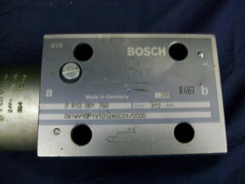 BOSH/REXROTH VALVE # 0 810 001 760