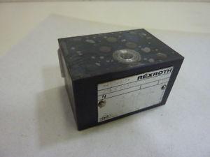 Rexroth Manifold Block Valve Z1S6P132/V Used #63907