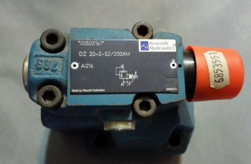 REXROTH HYDRAULIC CONTROL VALVE DZ 20-2-52/200XM