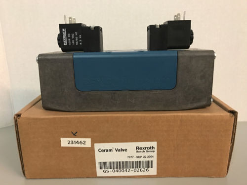 NIB Bosch Rexroth GS-040042-02626 R432006290 Pneumatic Directional Valve