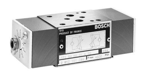 Bosch Rexroth 9 810 161 089 Modular Hydraulic Meter In/Out Interchangeable Valve