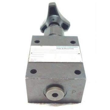 DBD6G18/315 Pressure relief valves,direct operated MANNESMANN REXROTH DBD SERIES