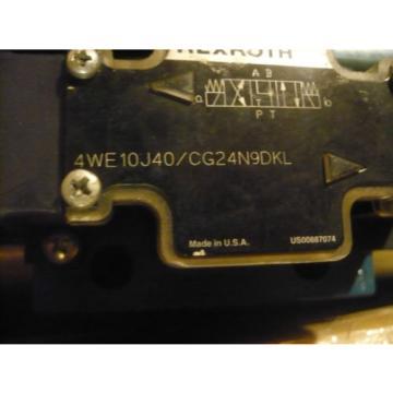 origin Rexroth 4WE10J40/CG24N9DKL Valve