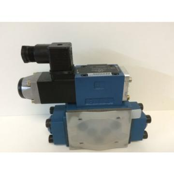 NEW Singapore Germany REXROTH HYDRAULIC VALVE 4WE-6-Y53/AG24NZ45 WITH Z4WEH-10-E63-41/6AG24NETZ45
