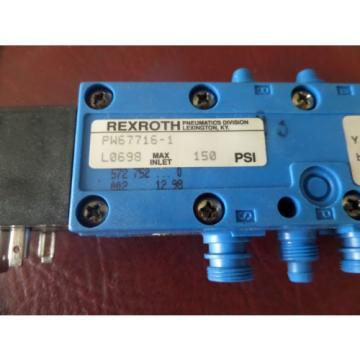 Rexroth, Type 740, PW-067716-00001, Valve