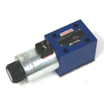 NEW India Singapore REXROTH 4WE10C33/CG24N9K4 DIRECTIONAL CONTROL VALVE R900593277