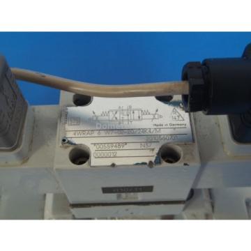 Mannesmann Rexroth 4WRKE10W4-50-2X/6A24Z9/D3M Hydraulic Valve Assembly