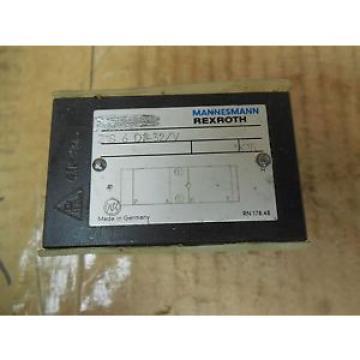 Rexroth Mannesmann Manifold Block Solenoid Valve Z1S 6 C2-32/V origin