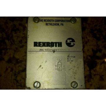 REXROTH Canada Japan 4WE10D21/AW110NDAV SOLENOID VALVE HYDRAULIC HYDRO NORMA $199