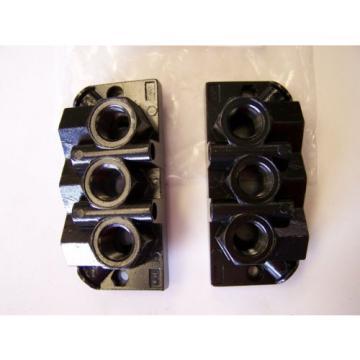 Qty 4 Rexroth / Bosch 901-HN1TF Pneumatic Valve Manifold Base Kits origin
