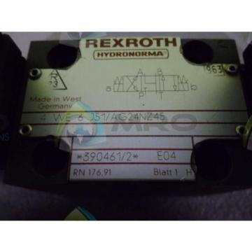 REXROTH Singapore Mexico 4WE6J51/AG24NZ45 VALVE *NEW NO BOX*
