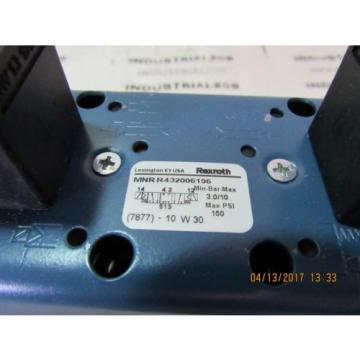 REXROTH CERAM VALVE R432006196 Origin