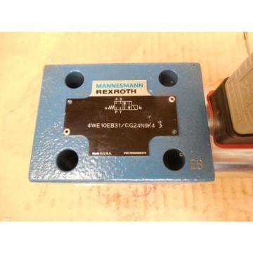 Mannesmann Rexroth Hydraulic Valve 4WE10EB31/CG24N9K4 4WE10EB31CG24N9K4 origin