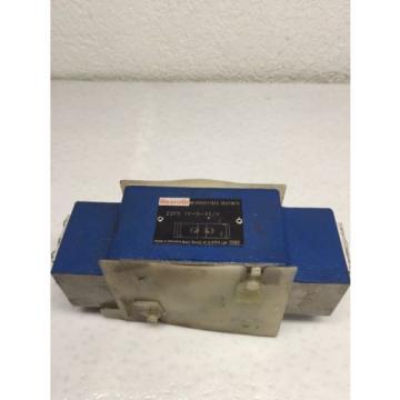 Rexroth Z2FS-10-5-33/V D05 Hydraulic Dual Flow Valve B49