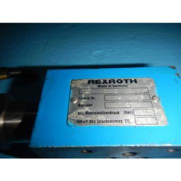 Rexroth Australia Canada DF30-ZA10 Sandwich D03 Hydraulic Relief Valve