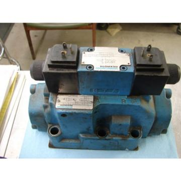 REXROTH DIRECTIONAL VALVE # H 4WEH22HD74/OF6EW110N9 /  4WE6D61/OFEW11ON9Z45/B12