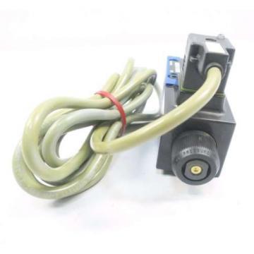 REXROTH 4WE6Y62/EW110N9K4/V/62 120V-AC SOLENOID HYDRAULIC VALVE D549964