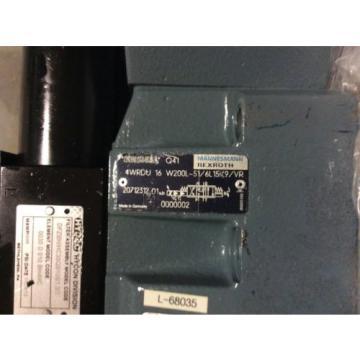 Rexroth Hydraulics servo valve, # 4WRDU 16 W200L-51/6L15K9/VR, rebuilt