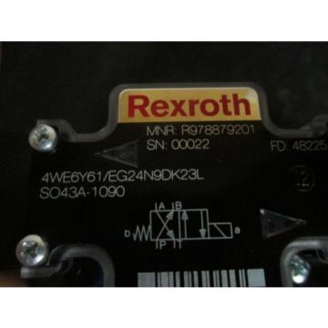origin Rexroth Directional Control Valve - 4WE6Y61/EG24N9DK23L