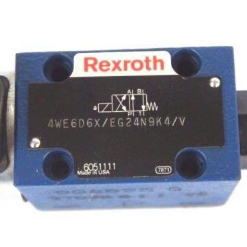 Origin REXROTH 4WE6D6X/EG24N9K4/V CONTROL VALVE R900021369 E 326