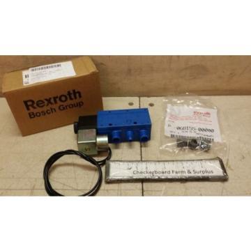 NOS Rexroth Solenoid Valve P69883-1 069883-00001 1/2#034; 150 PSI 110 V-AC 60 Hz