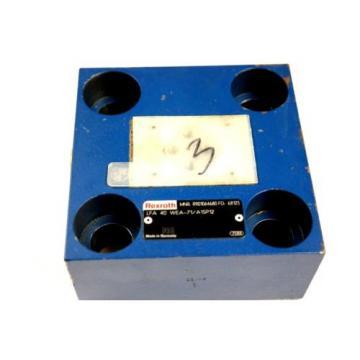 REXROTH LFA40WEA-71/A15P12 HYDRAULIC CARTRIDGE VALVE R901064680 Origin