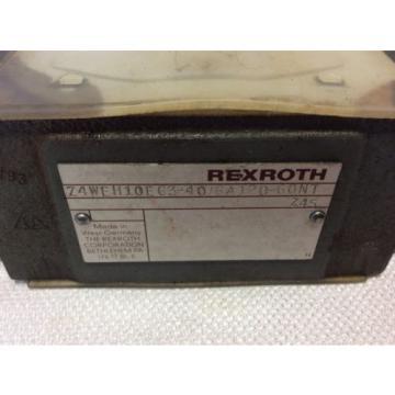 REXROTH HYDRAULIC VALVE 4WE6Y53/AW12060NZ45 WITH Z4WEH10E63-40/6A120-60NTZ45