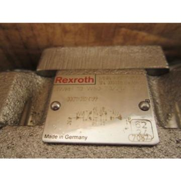 Bosch Directional Control Linear Valve 4WRH10W50-7X NSN: 4820012347073