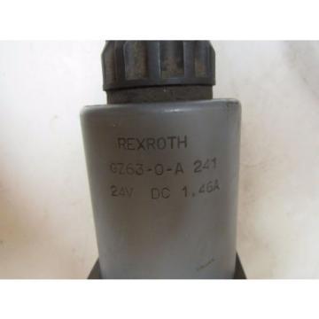 REXROTH HYDRAULIC VALVE 4WE10J32/CG24N9AV 4WE10J32CG24N9AV GZ63-0-A 241 24V DC