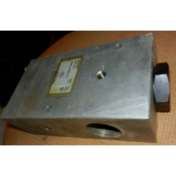 "Racine Australia Japan Bosch Rexroth 1-1/4"" check valve, 70 GPM 3000 psi, model FB1-P0HT-112R-21"