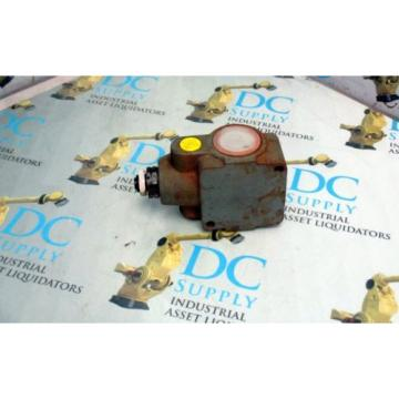 REXROTH DR20G5-42/200YMV/12 HYDRAULIC PRESSURE REDUCING VALVE