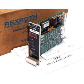 NEW France Australia REXROTH 102-WRE10-E AMPLIFIER CARD W/ SOFTWARE DPR-10 ,102WRE10E