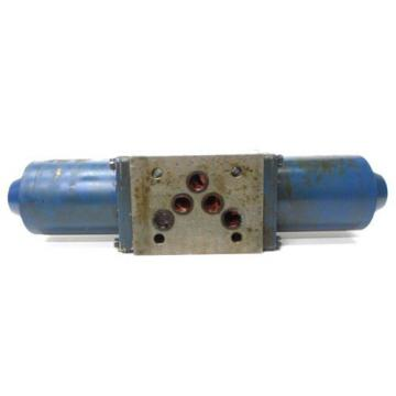REXROTH MANNESMANN SOLENOID ACTUATED HYDRAULIC VALVE 4WE10E32/LG24NK4
