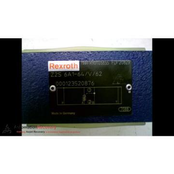 REXROTH Z2S 6A1-64/V/62 CHECK VALVE 315VAR 4568PSI, Origin #163840