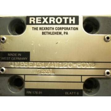 REXROTH VALVE 4WE6EA51/AW120-60N9