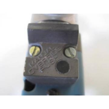 REXROTH CERAM VALVE DOUBLE SOLENOID R432008635 7877 0E53HJDDCCP