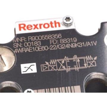 NEW Australia china REXROTH R900558356 CONTROL VALVE 4WRAE10E60-22/G24N9K31/A1V