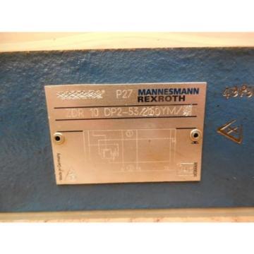 Mannesmann Rexroth Hydraulic Valve ZDR 10 DP2-53/210YM ZDR10DP253210YM origin