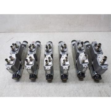 REXROTH MECMAN 561 021 983 0 CONTROL VALVE LOT OF 6 USED, AS IS