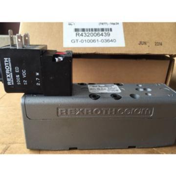 Rexroth Ceram Valve Size 1 GT-10061-3640