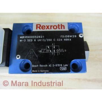 Rexroth Bosch R900052621 Valve M3SED6UK13350CG24N9K4 - origin No Box