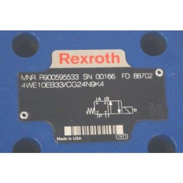 Origin REXROTH 4WE10EB33/CG24N9K4 VALVE R900595533