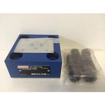 Origin REXROTH HYDRAULIC VALVE MANIFOLD R9007737881 FD: 99104 LFA25 WEMA-71/V/12