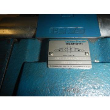 Rexroth 4WEH10W44/6EG24N9ETSDK24L Hydraulic Valve
