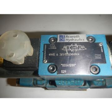 Rexroth Canada Russia 4WEH10W44/6EG24N9ETSDK24L Hydraulic Valve